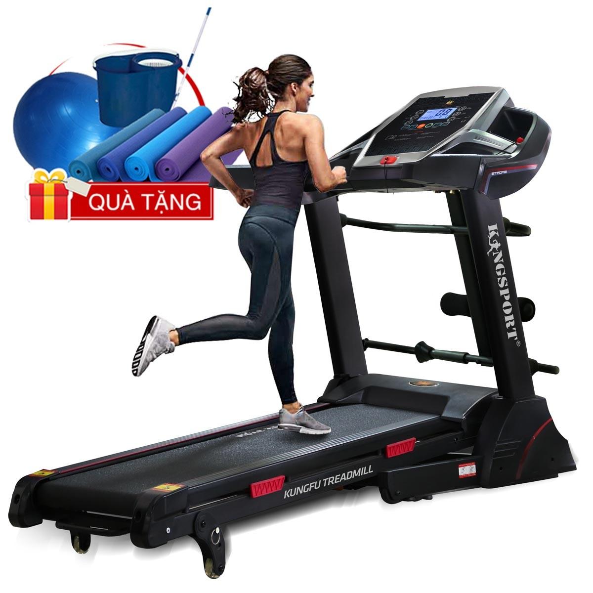 Máy chạy bộ KingSport Kungfu đa năng