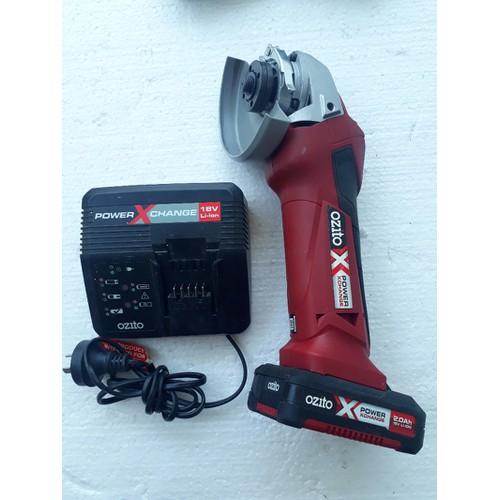 máy mài pin 18v OZITO Xpower - pin 2Ah - Hàng Úc