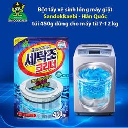 Gói bột tẩy vệ sinh lồng máy giặt 450g hàn quốc