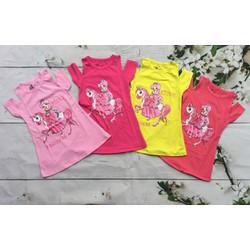 Váy cotton công chúa và ngựa Pony cho bé gái từ 1-7T,10 tới 27kg
