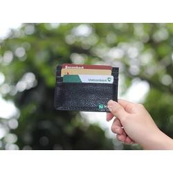 Ví Da Bò Đựng Thẻ T057 - Kiểu Dáng Thời Trang Chất Liệu Cao Cấp