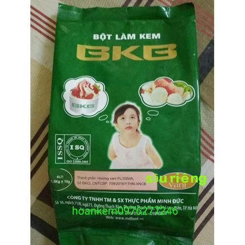 bột làm kem tươi vị sầu riêng túi 1.3kg