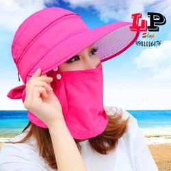 Mũ khẩu trang chống nắng