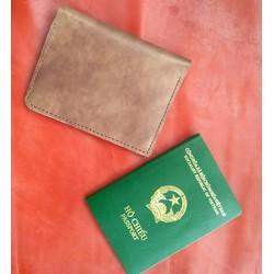 Passport da thật sale off nhiều ngăn rất tiện dụng