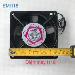 Quạt vuông 12 x 12 220V - quạt SUNON - SNUON 12 x 12 - quạt thông gió 12 x 12