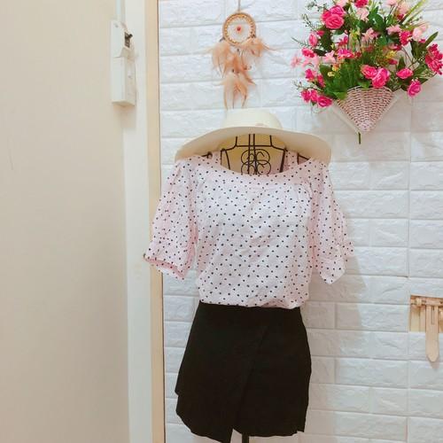 Thanh lí áo trễ vai hoa nhí màu hồng baby QC - 5717692 , 9682880 , 15_9682880 , 79000 , Thanh-li-ao-tre-vai-hoa-nhi-mau-hong-baby-QC-15_9682880 , sendo.vn , Thanh lí áo trễ vai hoa nhí màu hồng baby QC