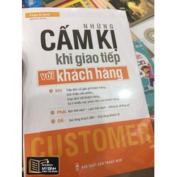 Sách - Những cấm kỵ trong giao tiếp với khách hàng