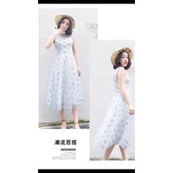 Đầm xoè ren công chúa