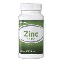 TPCN Bổ sung kẽm GNC ZINC 50 MG chai 100 viên