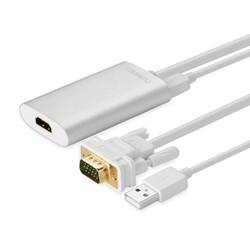 Cáp Chuyển VGA to HDMI Có Âm Thanh Cao Cấp Ugreen 40263