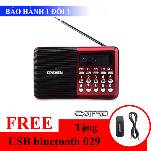Khuyến mãi - Loa nghe đài FM Craven CR-26 + Tặng USB bluetooth 029 - 5724291 , 9696683 , 15_9696683 , 175000 , Khuyen-mai-Loa-nghe-dai-FM-Craven-CR-26-Tang-USB-bluetooth-029-15_9696683 , sendo.vn , Khuyến mãi - Loa nghe đài FM Craven CR-26 + Tặng USB bluetooth 029