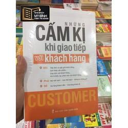 Sách - Những điều cấm kỵ trong giao tiếp với khách hàng