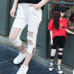 quần jean rách thời trang cho bé gái
