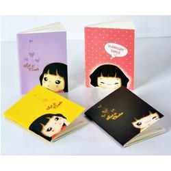 sổ tay ghi chép phong cách Nhật