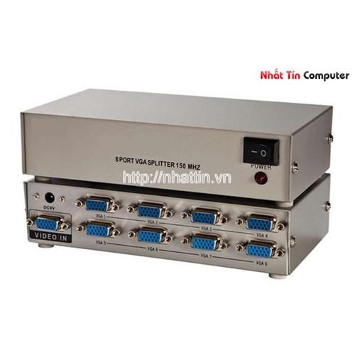 Bộ chia VGA 1 ra 8 màn hình ViKi MT-1508 150Mhz chính hãng - 5724666 , 9697377 , 15_9697377 , 230000 , Bo-chia-VGA-1-ra-8-man-hinh-ViKi-MT-1508-150Mhz-chinh-hang-15_9697377 , sendo.vn , Bộ chia VGA 1 ra 8 màn hình ViKi MT-1508 150Mhz chính hãng