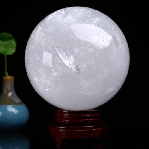 Quả cầu phong thủy đá thạch anh trắng - 5727369 , 9701514 , 15_9701514 , 812000 , Qua-cau-phong-thuy-da-thach-anh-trang-15_9701514 , sendo.vn , Quả cầu phong thủy đá thạch anh trắng