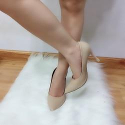 Giày cao gót bít mũi gót nhọn