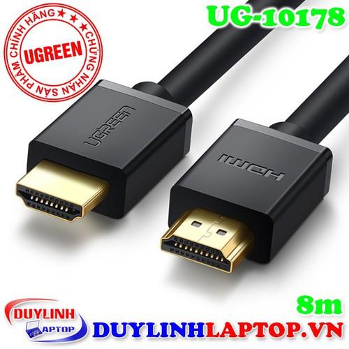 Dây HDMI dài 8m Ugreen 10178 - Cáp HDMI TV - 5725164 , 9698169 , 15_9698169 , 330000 , Day-HDMI-dai-8m-Ugreen-10178-Cap-HDMI-TV-15_9698169 , sendo.vn , Dây HDMI dài 8m Ugreen 10178 - Cáp HDMI TV