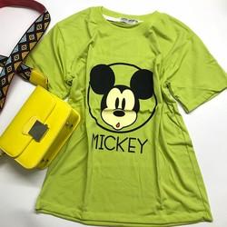 Áo thun chuột Mickey dễ thương, dưới 52kg