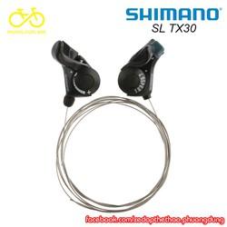 Tay đề cần bật Shimano SL TX30 gắn ghi đông