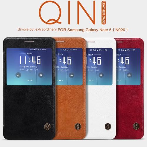 Bao Da Nillkin Qin Samsung Galaxy Note 5