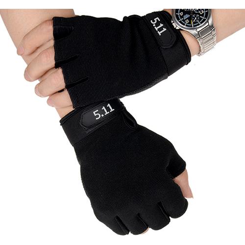 Găng tay cụt ngón 511-găng tay thể thao, tập gym, tập tạ