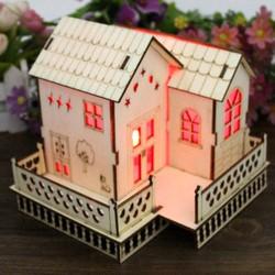Quà tặng sinh nhật bạn gái độc đáo và lãng mạn - Ngôi nhà gỗ phát sáng