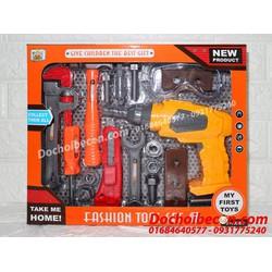 Bộ đồ chơi dụng cụ sửa chữa kỹ sư: Dùng pin