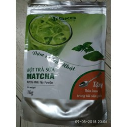 bột trà sữa matcha - bkbtrasua1kg