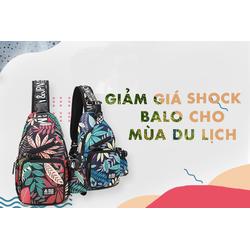 Túi đeo chéo Hàn Quốc- Balo thời trang hàn quốc- Balo một quai phượt