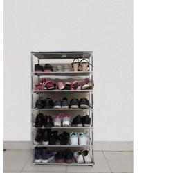 Kệ giày dép 6 tầng, khung ống thép, hàng Việt Nam chất lượng cao