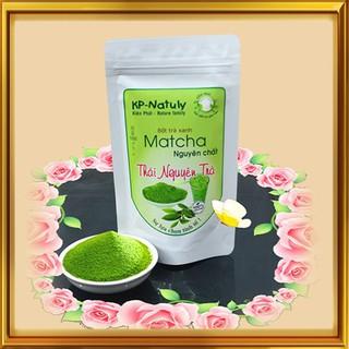Bột Matcha trà xanh nguyên chất gói 100gr - Bột Match thumbnail