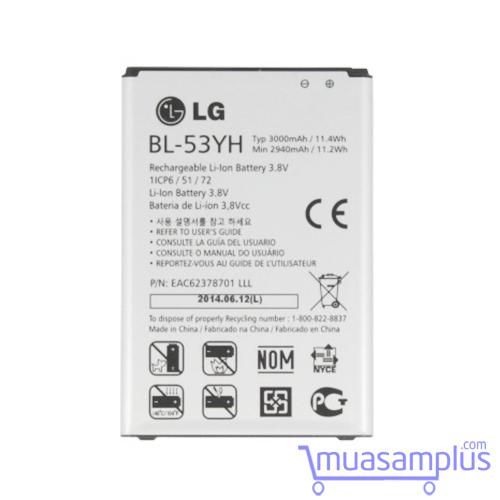 Pin LG BL-53YH dùng cho LG G3 F400, D830, D850, D851, D855 - 5730933 , 9709241 , 15_9709241 , 105000 , Pin-LG-BL-53YH-dung-cho-LG-G3-F400-D830-D850-D851-D855-15_9709241 , sendo.vn , Pin LG BL-53YH dùng cho LG G3 F400, D830, D850, D851, D855