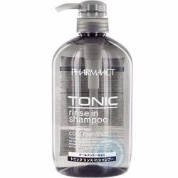 Dầu gội dành cho nam PHARMAACT TONIC rinse in shampoo 600ml - Japan