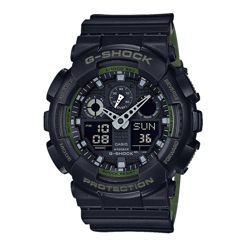 Đồng hồ nam Casio CHÍNH HÃNG GA-100L-1ADR