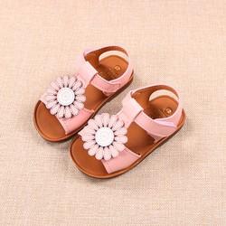 giầy dép bé gái size 15-19 và 21-25 hoa cúc siêu mềm