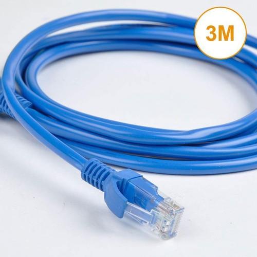 Dây cáp mạng Cat5 bấm sẵn 2 đầu RJ45 dài 3M - 5021116 , 9719265 , 15_9719265 , 20000 , Day-cap-mang-Cat5-bam-san-2-dau-RJ45-dai-3M-15_9719265 , sendo.vn , Dây cáp mạng Cat5 bấm sẵn 2 đầu RJ45 dài 3M