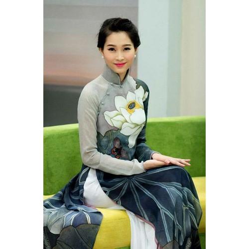 vải áo dài hoa sen nguyên bộ - 10613068 , 9717669 , 15_9717669 , 310000 , vai-ao-dai-hoa-sen-nguyen-bo-15_9717669 , sendo.vn , vải áo dài hoa sen nguyên bộ