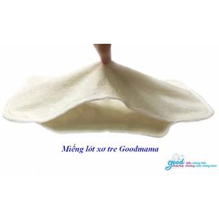 1 Miếng lót của bỉm vải Goodmama siêu chống tràn lót sơ tre - 1 lót thumbnail