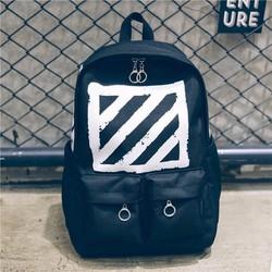 Ba Lô Off White Brushed Diagonals Backpack