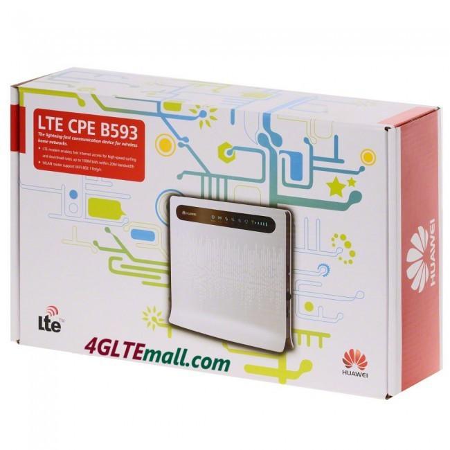 Huawei B593 U12 Thiết bị phát wifi 3G 4G Chuẩn LTE Tốc Độ Cao 18