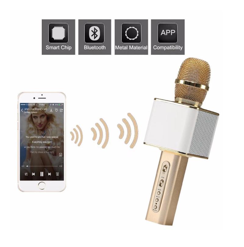 Micro Karaoke Không dây Bluetooth Loa Nhạc speakers PKCB-YS10 Cao Cấp 9