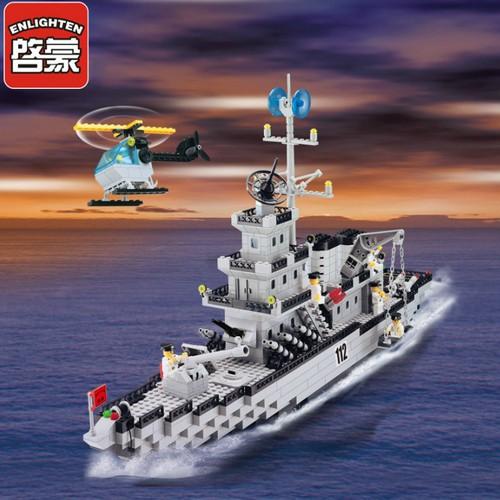 Bộ Lắp Ráp Tàu Chiến Cỡ Lỡn và Trực Thăng - 970 Chi Tiết - 5737776 , 9722151 , 15_9722151 , 610000 , Bo-Lap-Rap-Tau-Chien-Co-Lon-va-Truc-Thang-970-Chi-Tiet-15_9722151 , sendo.vn , Bộ Lắp Ráp Tàu Chiến Cỡ Lỡn và Trực Thăng - 970 Chi Tiết