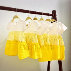 Váy  vàng chanh
