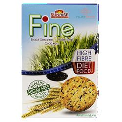 Bánh Ăn Kiêng Yến mạch Fine Yến mạch - Mè đen