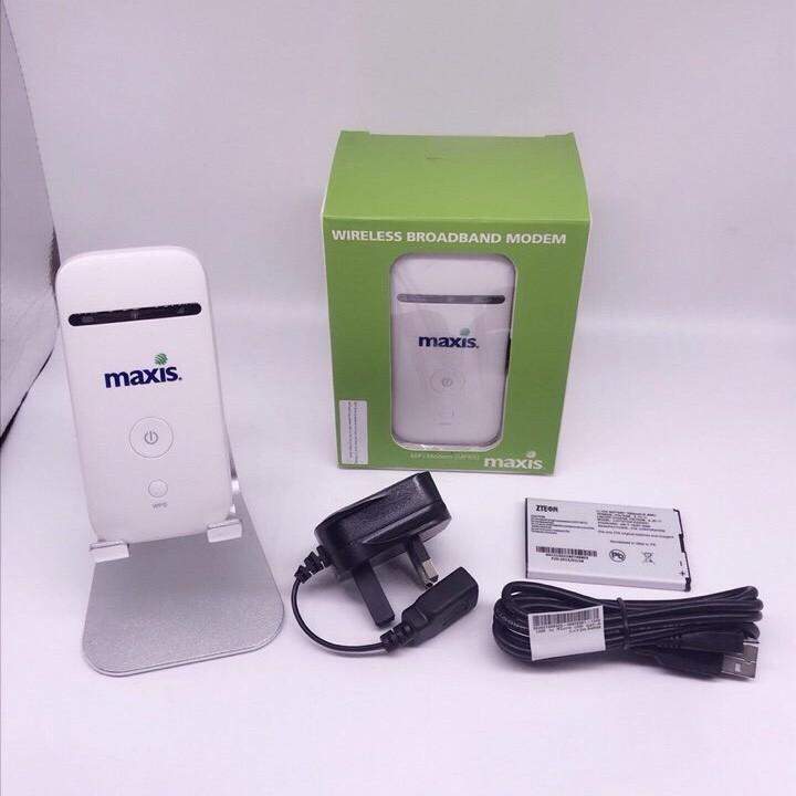 Thiết bị phát wifi 3G 4G PKCB Maxis MF65 Tốc Độ Cao 6