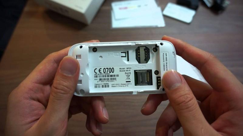 Thiết bị phát wifi 3G 4G PKCB Maxis MF65 Tốc Độ Cao 5