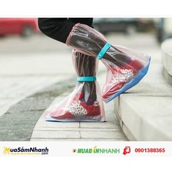 Bọc giày đi mưa nhựa PVC dẻo cao cấp dùng để đi phượt, đi du lịch
