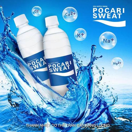 Thùng nước uống  pocari sweat 24x500ml - 24chai