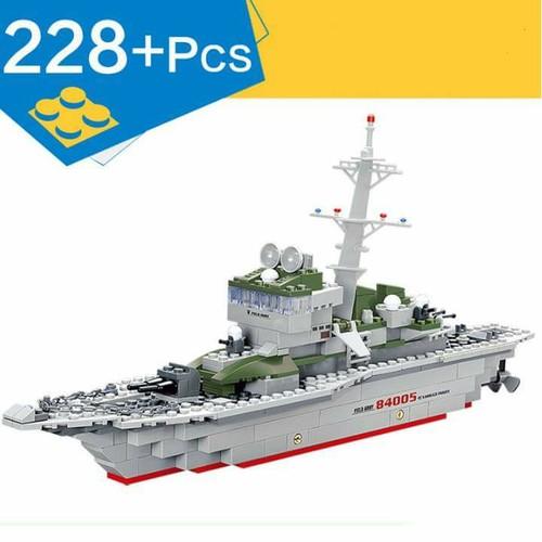 Lắp Ráp Tàu Chiến Quân Đội - 228 Chi Tiết